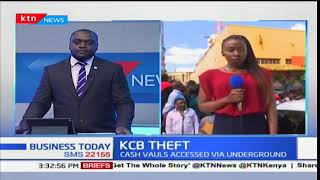 KCB Thika broken into and 50 million shillings stolen