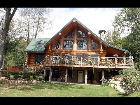 Лучшие частные  деревянные дома