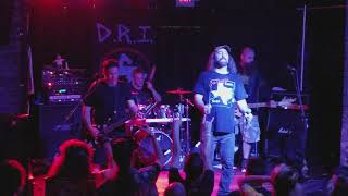 """D.R.I. (Dirty Rotten Imbeciles) """"All For Nothing"""" & """"Manifest Destiny"""" Live Voltage, Philly 9/16/18"""