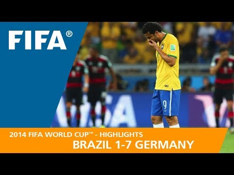 On this day 5 years ago, Germany beat Brazil 7-1 in the semi final of the world cup.