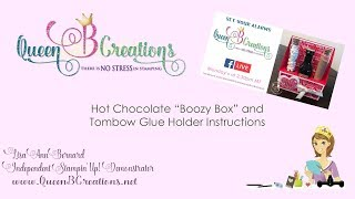 Stampin Up! Gift Idea - Hot Chocolate Boozy Box