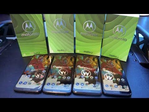 Motorola Moto G7 Family | Full tour & comparison