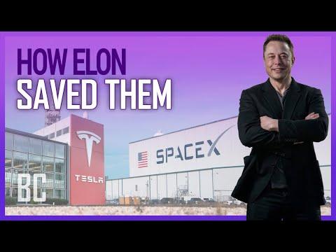 Jak Elon zachránil současně Teslu i SpaceX