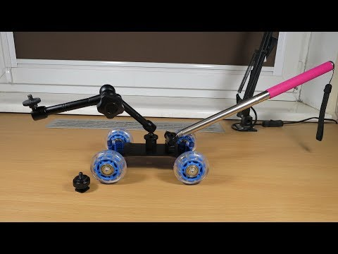 DSLR Dolly from Banggood - My idea on filming RC cars
