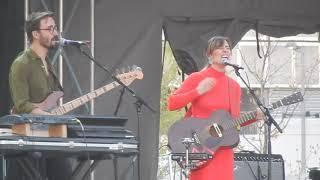 "Feist live ""I Feel It All"" @ Homecoming Festival  Cincinnati, Ohio April 29, 2018"