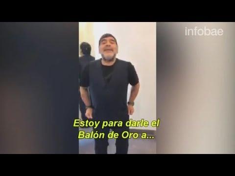 """Diego Maradona pidió que ya no lo llamen """"Diegote"""""""