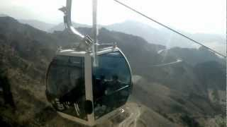 preview picture of video 'cable car down to Al kur village_1'