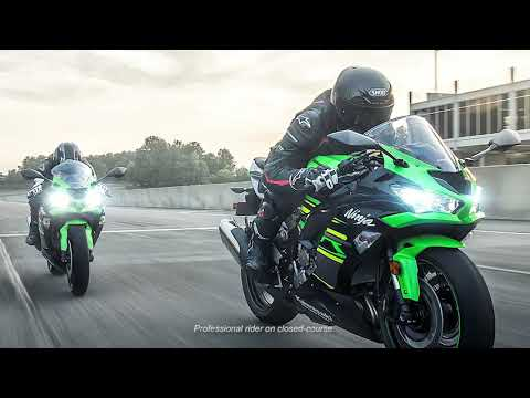 2019 Kawasaki NINJA ZX-6R in Zephyrhills, Florida - Video 1