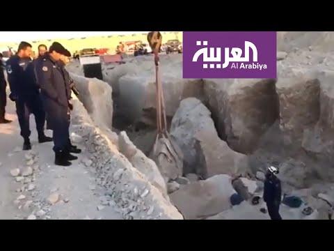 العرب اليوم - شاهد: وفاة 3 وإصابة آخرين إثر انهيار رملي في الكويت