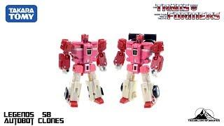 Optibotimus Reviews: TakaraTomy Transformers Legends LG58 AUTOBOT CLONES (FASTLANE and CLOUDRAKER)