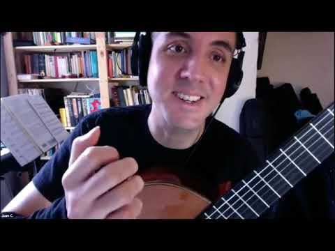 Introduction to the nylon string guitar.  This is a live group class done at the request of Takelessons for a Zoom audience.