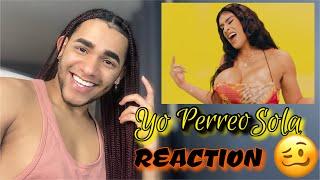 Yo Perreo Sola - Bad Bunny (Video Oficial) REACCIÓN/REACTION 🔥