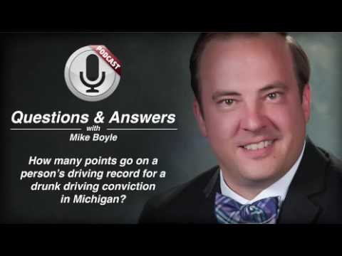 video thumbnail Michigan DUI and Driving Record Points