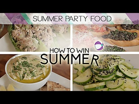 Last-Minute Summer Party Food