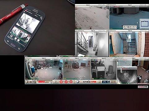 ПОЛНОЦЕННАЯ Система видеонаблюдения в мобильном телефоне
