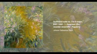 Orchestral Suite no. 3 in D major, BWV 1068