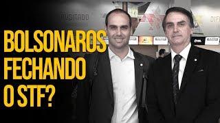 Bolsonaros querem fechar o STF?