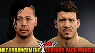 WWE 2K17: All DLC Models from NXT Enhancement & Legends Packs in Superstar Studio!