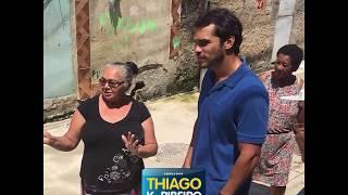 Thiago K. Ribeiro visita a comunidade Furquim Mendes, no Jardim America