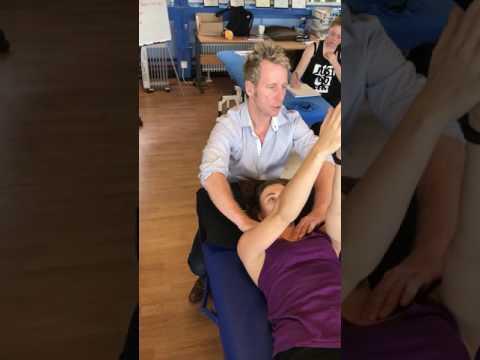 Schüsse Rückenschmerzen Schmerzlinderung