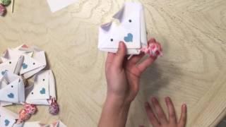 Origami Dog Valentines Tutorial / Valentines Day Craft