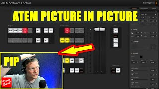 ATEM Picture In Picture (PIP) | How to Adjust |ATEM Mini Pro Tutorial