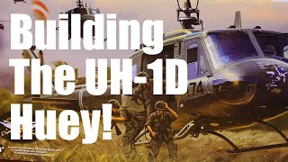 UH-1D Huey helicopter model kit review