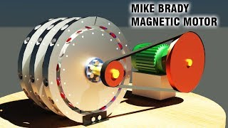 Магнитный двигатель в каждый дом... Советую посмотреть... Магниты