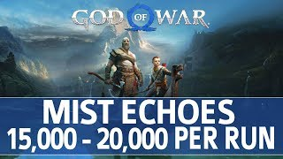 God of War - Niflheim Mist Echoes Farming Walkthrough (15,000 - 20,000 Mist Echoes per 10 Minutes)