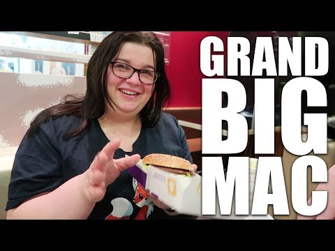 3 TAKEAWAYS IN ONE DAY! Including the new GRAND BIG MAC!