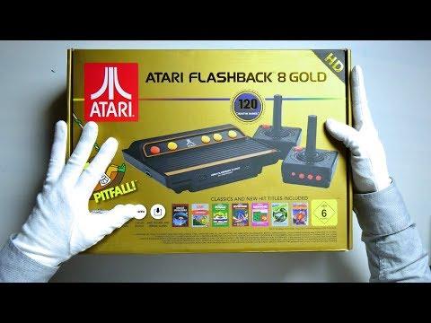 Atari Flashback 8 Gold Unboxing (Atari 2600 Retro HDMI Console)