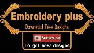 Embroidery Designs   Free Download   2018
