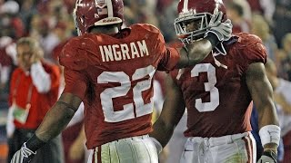 Mark Ingram and Trent Richardson Tough Yards