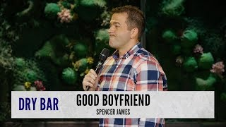 Being the good boyfriend. Spencer James