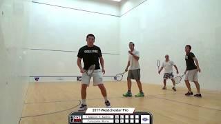 2017 Westchester Country Club Pro Doubles Squash Tournament - Final