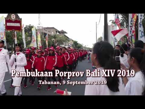 KONTINGEN JEMBRANA - PEMBUKAAN PORPROV BALI 2019