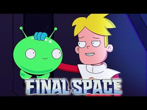 TBS' FINAL SPACE! Olan Rogers' Amazing Sci-Fi Animated Series (First Impressions)