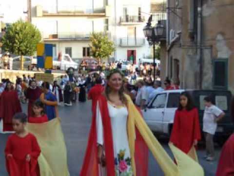 alia - SFILATA STORICA - FRANCESCA CIFUENTES - 1^parte
