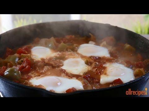 How to Make Easy Shakshuka   Vegetarian Recipes   Allrecipes.com