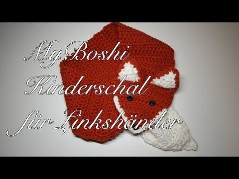Schal Und Mütze Häkeln Für Linkshänder Myboshi Isehara Kindermütze