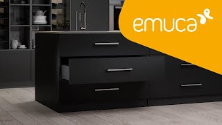 Discover the Vertex drawer to equip your furniture with design and functionality