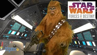 Star Wars Forces of Destiny Roaring Chewbacca from Hasbro