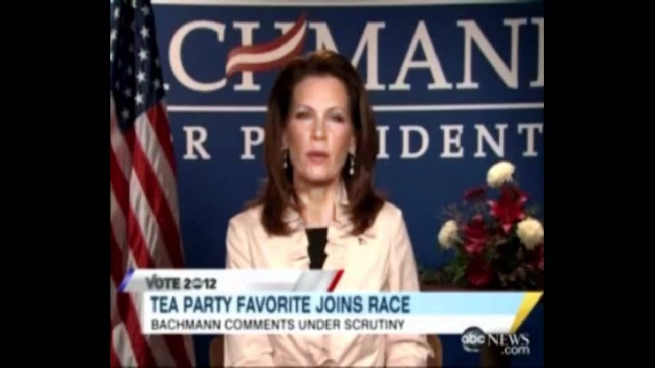 Bachmann Founding Fathers Slavery BS Exposed thumbnail