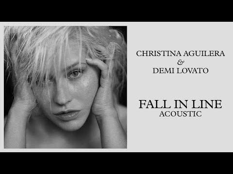 Christina Aguilera - Fall in Line (feat. Demi Lovato) [Acoustic]