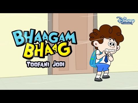 Download Bhaagam Bhaag Episode 4 - Funny Hindi Cartoon  For Kids - Disney India HD Mp4 3GP Video and MP3