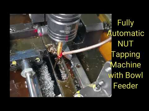 Automatic Drilling Cum Tapping Machine