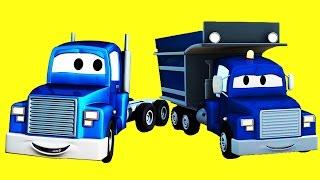 Carl Transform i  Koparka, Samochód Pick w Miasto Samochodów| Samochody bajka o maszynach dla dzieci