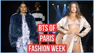 Paris Fashion Week VLOG 2019! Backstage, BTS + More | Emily DiDonato