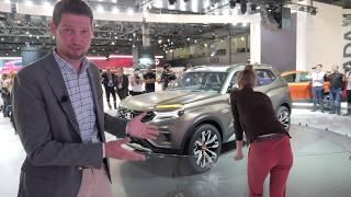 Вот какой будет новая Нива! Lada 4x4 vision