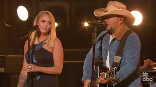 Jason Aldean, Miranda Lambert Deliver Aching CMA Awards Performance